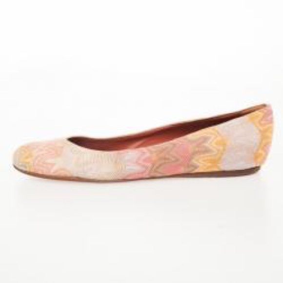 Missoni Shoes - 💛Missoni💛ballerinas~cute color for spring/summer